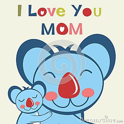 Free I Love You Mom Stock Image - 31128001