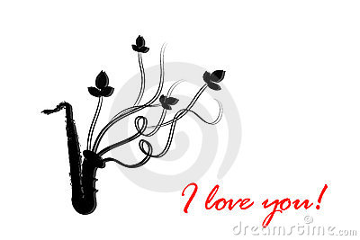 I love you.Musical instrument