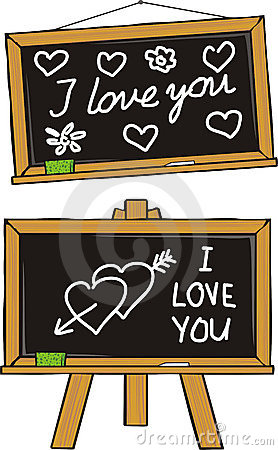 I love you - school love