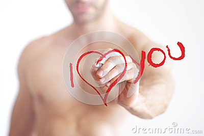 I love you sexy man