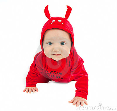 Free I M A Little Devil! Royalty Free Stock Photography - 16679247