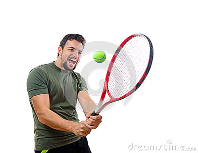 I,m different tennis player