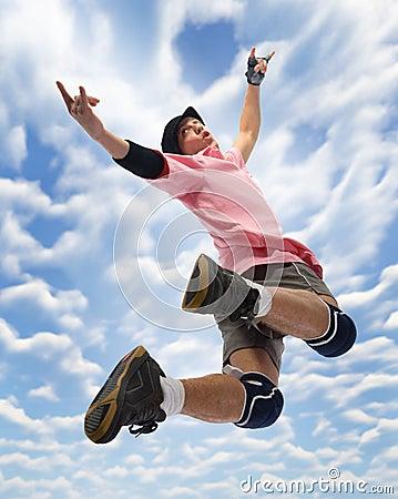 I m flying!