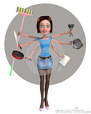 I m a housewife