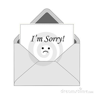 I m sorry card