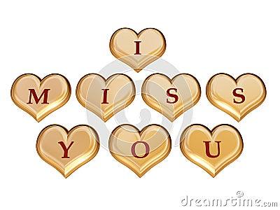 I miss you 1