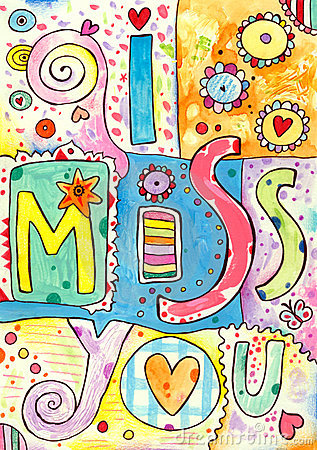 Free I Miss You Stock Image - 18300801