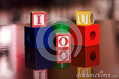 I O U