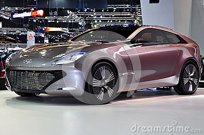 I-oniq concept car Editorial Stock Image
