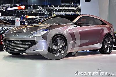 I-oniq concept car Editorial Stock Image