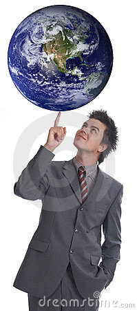 I Rule The World 1 Royalty Free Stock Photos - Image: 1344208
