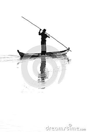 I am sailing Editorial Stock Photo