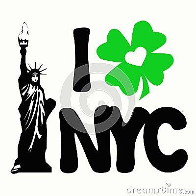I Shamrock Love New York City