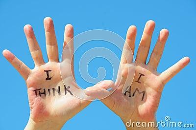 I think I am
