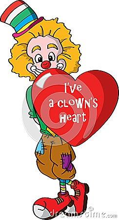 I ve aclown s heart