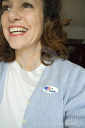 I voted! Editorial Stock Photo