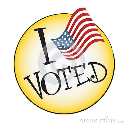 Free `I Voted` Button Stock Photos - 130631463