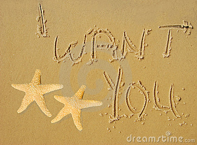 I Want You Written in Sand
