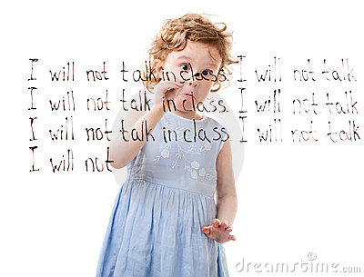 I Will Not Talk In Class