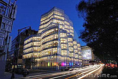 IAC Building Editorial Image