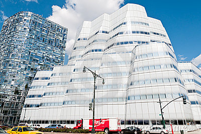 The IAC Building by Frank Gehry in New York City Editorial Photo