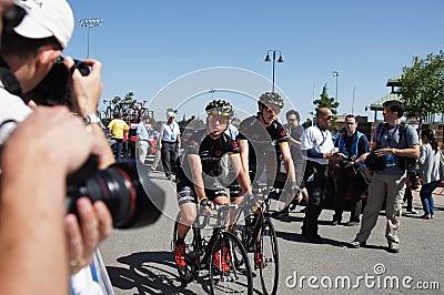 Ian Boswell 2012 Amgen Tour of California Editorial Stock Photo