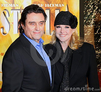 Ian McShane and wife Gwen Humble Editorial Stock Photo