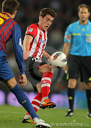Ibai Gomez of Athletic Bilbao Editorial Stock Image