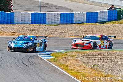 Iber GT Championship 2011 Editorial Stock Photo