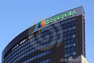 Iberdrola building Editorial Photo