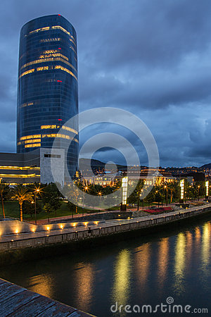 Iberdrola Tower - Bilbao - Spain Editorial Stock Photo