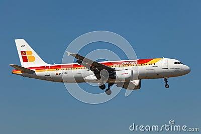 Iberia Airbus A320 Editorial Image