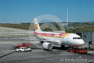 Iberia Airlines Editorial Stock Photo