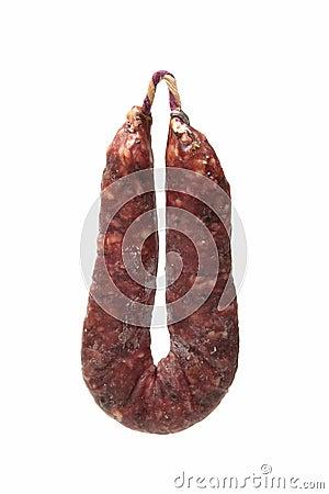 Iberian sausages