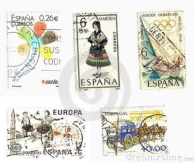 Iberian stamps