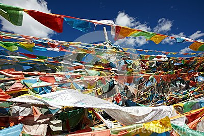 Ibetan prayer flags