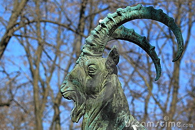 Ibex statue