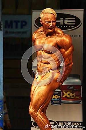 IBFF Bodybuilding world championship Editorial Stock Image