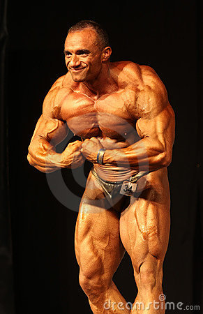 IBFF Bodybuilding world championship Editorial Stock Image