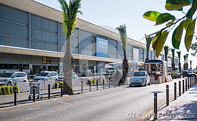Ibiza airport Editorial Photography