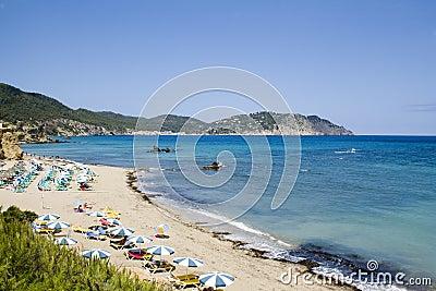 Ibiza na plaży