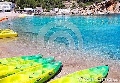 Ibiza Port de San Miquel San Miguel beach