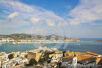 Ibiza serie Dalt Vila harbour