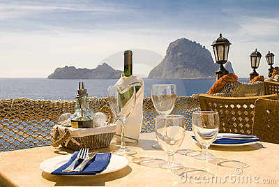 Ibiza serie Lunch or Dinner