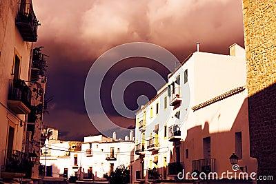 Ibiza storm