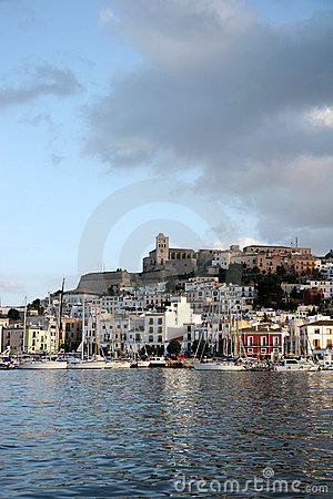 Free Ibiza Town Royalty Free Stock Photography - 3126727