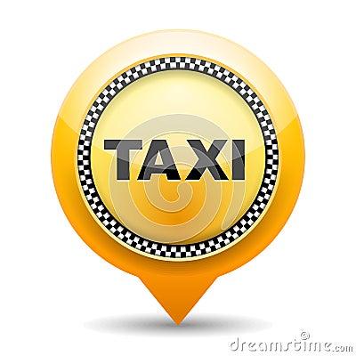 Icône de taxi