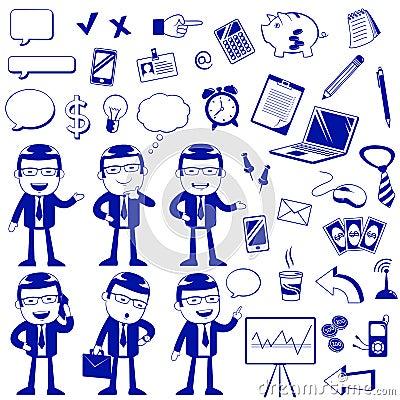 Icônes d affaires