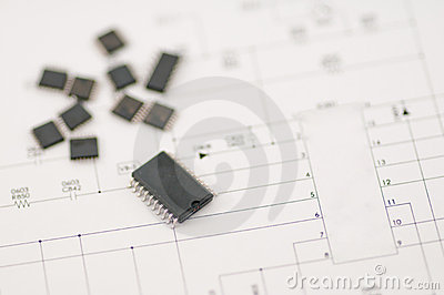 IC SMD component
