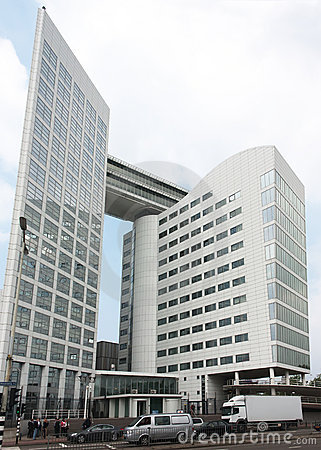 ICC International Criminal Court, The Hague Editorial Stock Photo